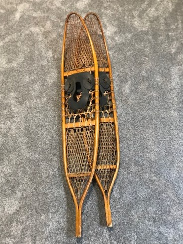 """Army Issue Snowshoes Circa 1940s"""